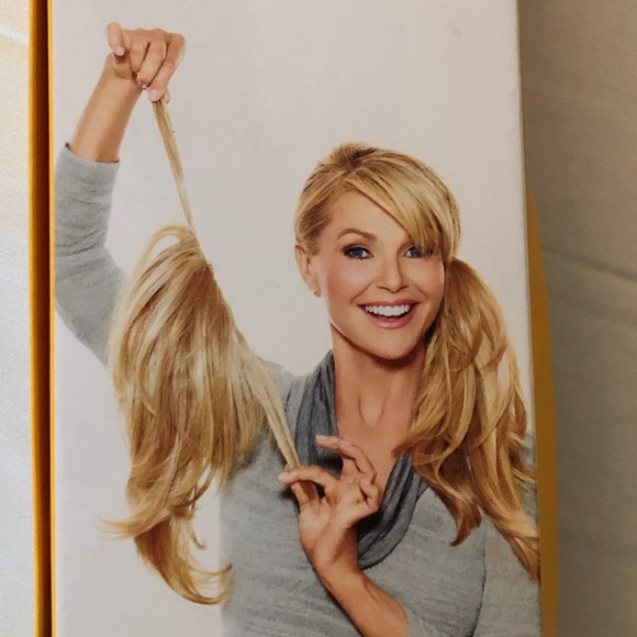 272840831ada Accessories | The Pony Hair Extension By Christie Brinkley | Poshmark